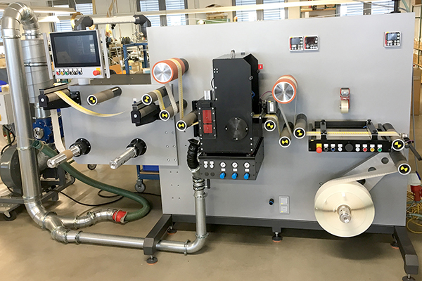 The new digital converting machine for labels from eXtra4