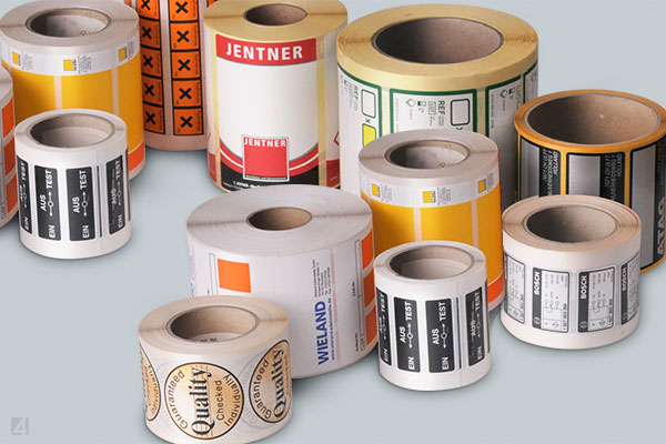 Haftetiketten - adhesive labels eXtra4 Identification Systems