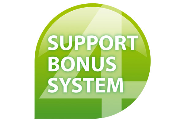 support bonus-system at eXtra4 Labelling Systems