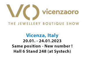 Jewellery and watch fair, Vicenzaoro, Italy
