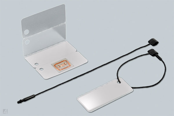WrapTag as RFID label with transponder Ref-No. 35 3865