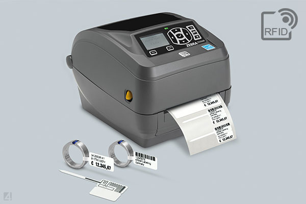 RFID label printer Zebra